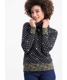 Blutsgeschwister Frauen Pullover Blutsgeschwister riders in the sky hood dots of country