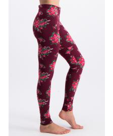 Blutsgeschwister Frauen Leggings Blutsgeschwister walking on flowers legs flower for babushka