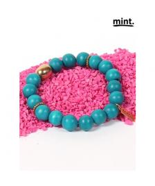 Mint Mint Freunschaftsband/ Armband/ Friendship bracelet/ gold 308-Petrol
