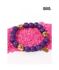 Mint Mint Freunschaftsband/ Armband/ Friendship bracelet/ 266-Purple