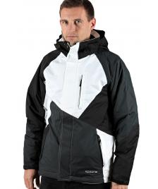 Ripzone Ripzone Snowboardjacke Winterjacke Knockout Jacket black white carbon