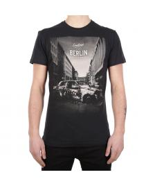 Iriedaily Männer T-Shirt Iriedaily Greetings Tee black