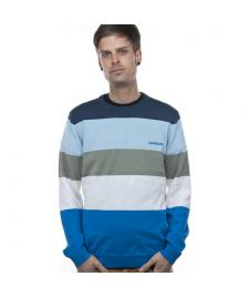 Quiksilver Quiksilver Feinstrick Pullover Head Up Knit pacific