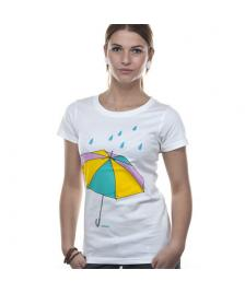 Wemoto Wemoto T-Shirt Umbrella white