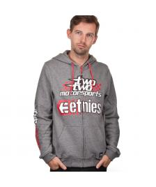 Etnies Etnies Kapuzenjacke 22 Motocross Throttle Zip Fleece grey heather