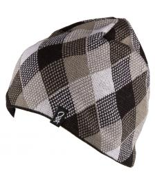 K1X K1X Mütze Check Beanie black white grey