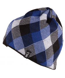 K1X K1X Mütze Check Beanie black white ultra blue