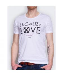 C like ZEBRA C like ZEBRA T-Shirt Legalize Love white