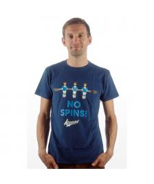 Kempt Kempt T-Shirt No Spins navy