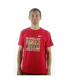 Kempt Kempt T-Shirt Ze Mullet red