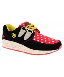 Brakeburn Brakeburn Schuhe Iggy Ladies Shoe black red yellow