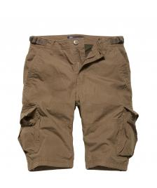 Vintage Industries Männer Shorts Vintage Industries Terrance Shorts dark khaki