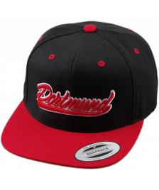 City Snapback Cap Dortmund black red