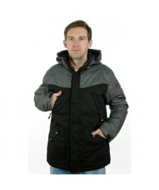 Cleptomanicx Cleptomanicx Winterjacke Orka Winter Jacket heather dark gray