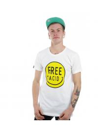 Space Monkeys Space Monkeys T-Shirt Acid Crew Neck Tee white