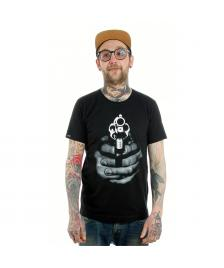 Space Monkeys Space Monkeys T-Shirt Haterz Crew Neck Tee black