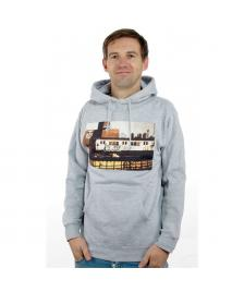 Obey Obey Kapuzenpullover Obey x Cope2 Subway Photo heather grey