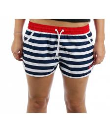 Brakeburn Brakeburn Shorts Womens Honeylake Beach Short white navy red