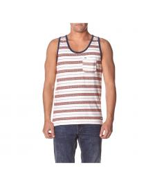 Element Element Buford Pocket Vest Tank off white