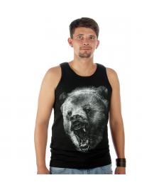 Rook Rook Grizzly Tank Top black