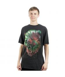 Rook Rook T-Shirt Grizzly Dye Enzymed Tee vintage black