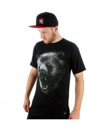 Rook Rook T-Shirt Grizzly Tee black