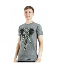 Rook Rook T-Shirt King Tusk Tee heather grey