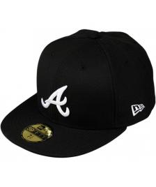 New Era New Era Cap MLB Basic Atlanta Braves black white