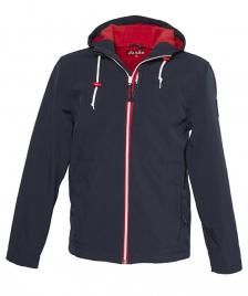 Derbe Derbe Jacke Isle of Skye navy red