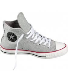 Converse Converse Schuhe Chuck Taylor Sweatshirt High Unisex grey red black