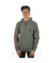 Rook Rook Kapuzenpullover No Fear Hooded Fleece heather grey