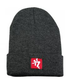 Klamottenstore klamottenstore.de Mütze Logo Patch Beanie dark grey heather