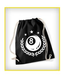 Klamottenstore Eight Ball Street Gym Bag black white