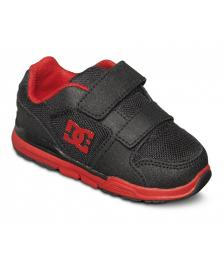 DC Shoes DC Kinder Schuhe Toddlers Forter V black athletic red