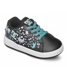 DC Shoes DC Kinder Schuhe Toddlers Phos black print
