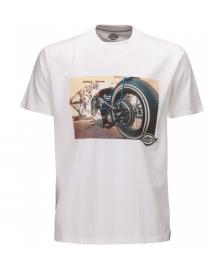 Dickies Dickies T-Shirt Hot Rod Wheel Tee white