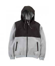 Cleptomanicx Cleptomanicx Jacke Men All Season Hooded Jacket Akin heather gray