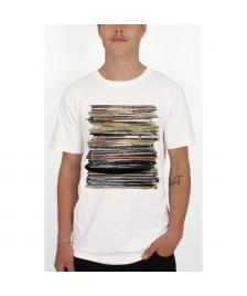Dedicated Dedicated T-Shirt Fairtrade Organic Tee Vinyl Retro off white
