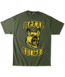 Metal Mulisha Metal Mulisha T-Shirt K9 Tee military green