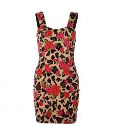 Iron Fist Iron Fist Kleid Ladies Leopard Garden Dress leopard