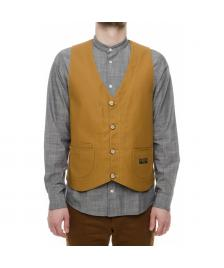 Turbokolor Turbokolor Weste Artisan Vest duck canvas brown