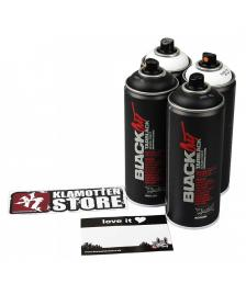 Montana Montana Sprühdosen Set Blackout & Whiteout 4x400ml