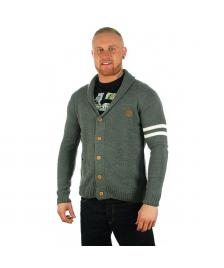 Rocawear Knit Cardigan heather charcoal