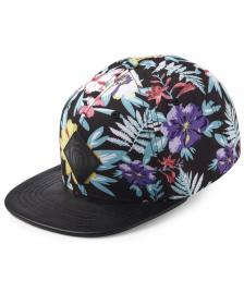 UpFront Upfront Cap Offspring Flower Snapback Hat black