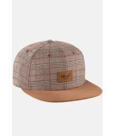 Reell Snapback Cap Reell Suede Cap sand check