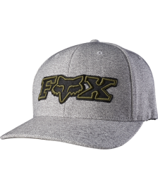 Fox FOX Cap Another Notch Flexfit Hat Heather Grey