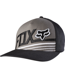 Fox FOX Cap Become Flexfit Hat Graphite