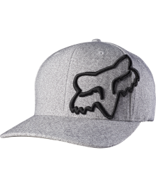 Fox FOX Cap Never Decline Felxfit Hat Heather Grey