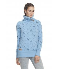 Ragwear Frauen Pullover Ragwear Angel light blue