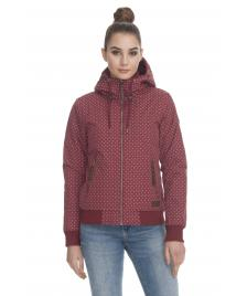 Ragwear Frauen Jacke Ragwear Nuggie A wine red